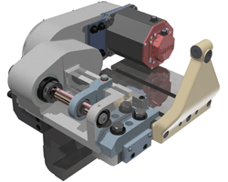 Servo Arbor Milling Attachment or Polygon Milling Attachment