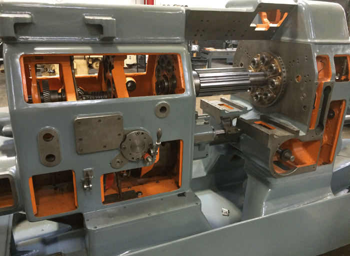 Acme Gridley screw machine rebuilding