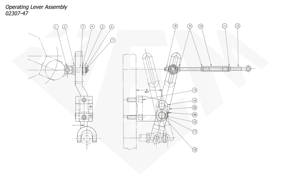 1148-Attachment-Pickoff-7th-1-Operating-Lever-Assembly