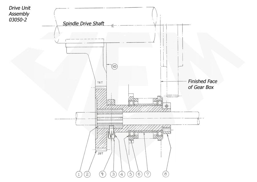 1148-Attachment-Pickoff-7th-5-Drive-Unit-Assy